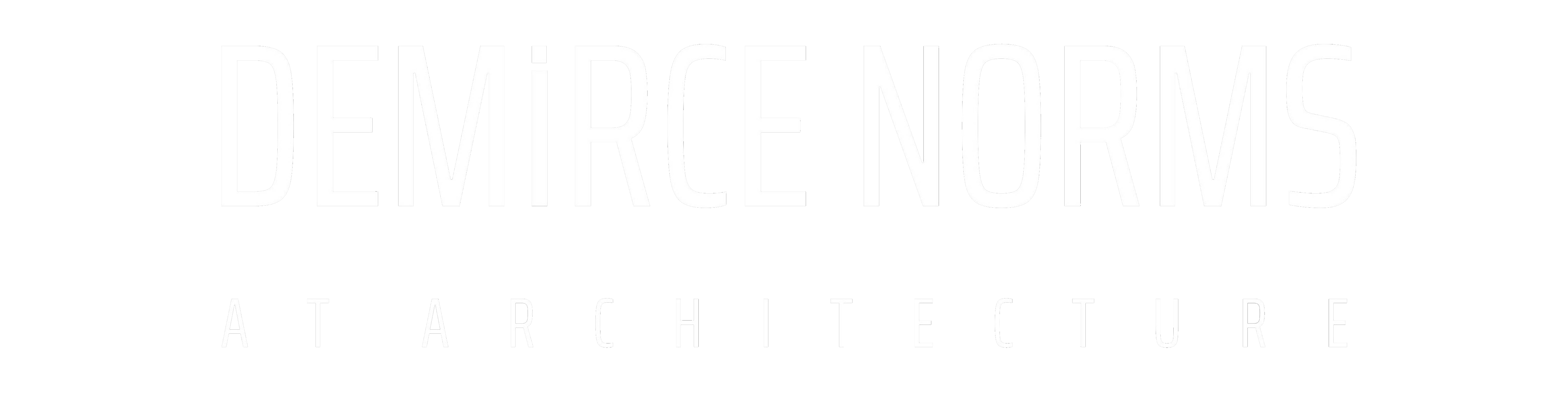 Demirce Norms ( Mimarlık – İç Mimarlık ) at Architecture, Interior Design